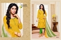 Round Neck Printed Salwar Suit Fabric