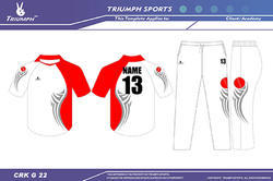 Custom Made Cricket Jerseys