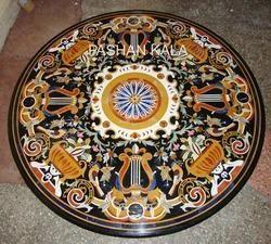 Marble Pietra Dura Table Top