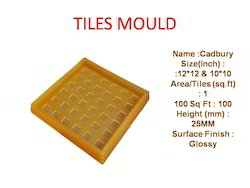 Rubber Mould Chequered Tiles