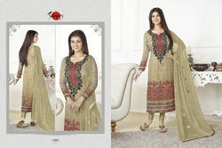 Full Sleeve Silky Salwar Suit