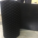Diamond Groove Pulley Lagging Rubber Sheet