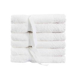 White Cotton Terry Towels