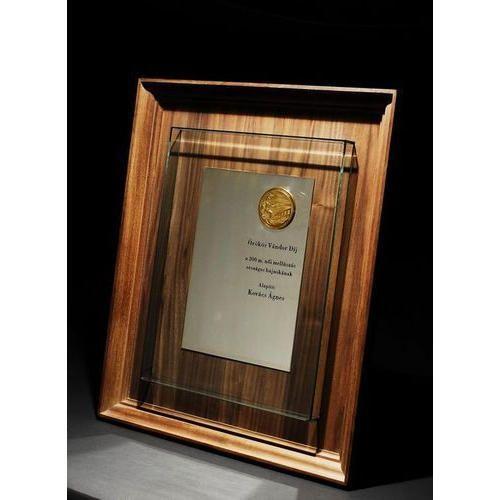 Frame Shape Wooden Trophy