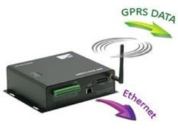 Data Logger - GPRS, Ethernet and SMS Simultanious