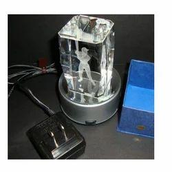 Rotating Crystal Cube