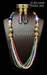 Designer Pearl Beaded Mala Set