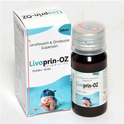 Levofloxacin & Orindazole Suspension