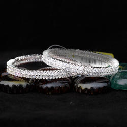 Open-able American Diamond Bangles