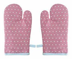 Dot Print Cotton Glove