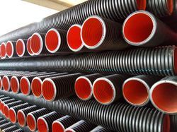 HDPE Double Wall Corrugated Sewerage Pipe SN-8