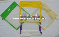 Plastic Garment Packaging Zipper Bag