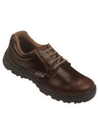 Brown Safety Shoe