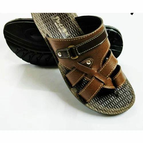98bf6ea43a63 Men Sandals - Mens PU slipper Manufacturer from Delhi