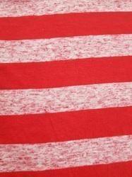 Poly Viscose Linen Stripe