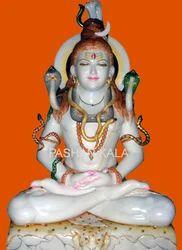 Marble Shiva Sculpture