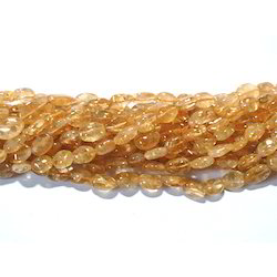Citrine Smooth Gemstone Beads
