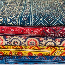 Ajrakh Print Bed Covers