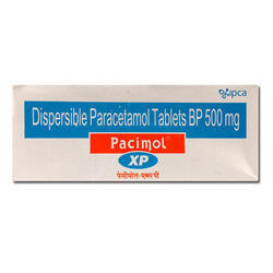 Pacimol - Acetaminophen (Paracetamol) Tablets
