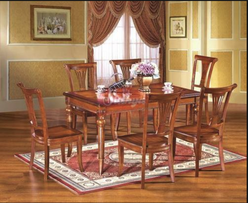 Dining Table Luxury Wooden Dining Table Manufacturer From Chennai