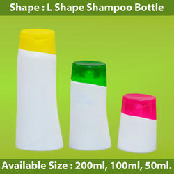 L Shape Shampoo Bottle