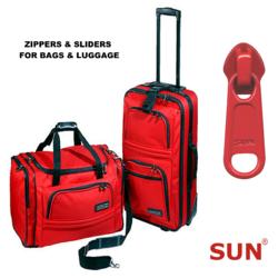 Non Lock Zipper Sliders for Bags & Luggage -SUN Sliders