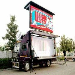 Hydraulic LED Screen Mobile Van