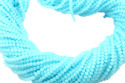Blue Aqua Chalcedony Faceted Beads