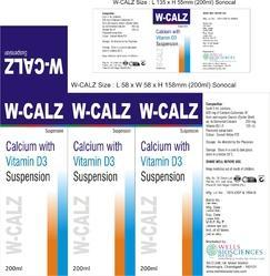 Calcium Carbonate Zinc Vitamin D3