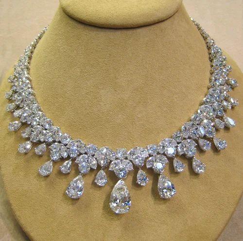 Original diamond jewelry real diamond necklace manufacturer from real diamond necklace mozeypictures Gallery