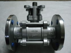 Stainless Steel Flanged Ball Valve