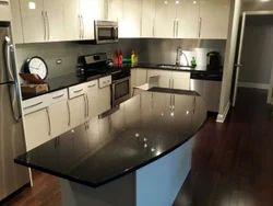 Black Galaxy Granite Kitchen Top