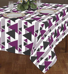 Triangle Printed Table Cloth
