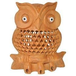 Wooden Undercut Tahani Owl