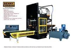 Hydraulic Operated Fly Ash Brick Making Machine