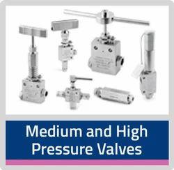 Medium and High Pressure SS Valves