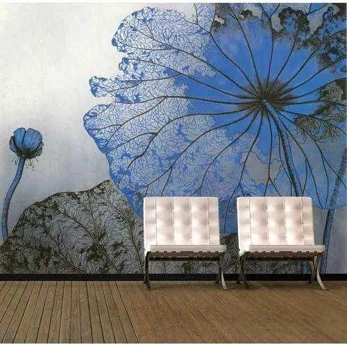 Designer Wallpaper Floral Wallpaper Wholesale Trader From Delhi