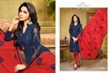 Collar Neck Havya Salwar Suit Fabric
