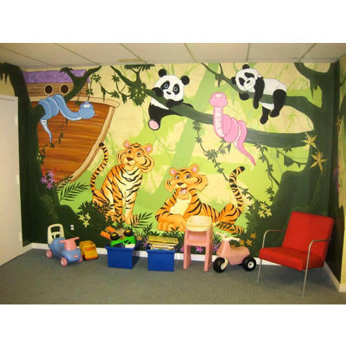 Wall Paintings Service Art Nursery Schools Services Manufacturer From New Delhi