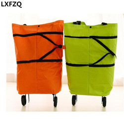 Foldable Shopping Bag Trolley