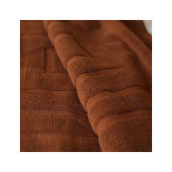 Brown Bath Towel