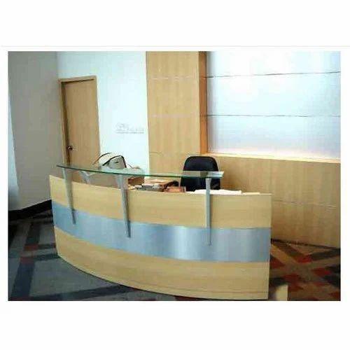 Designer Office Reception Table