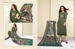Round Neck Masakali Salwar Suit Fabric