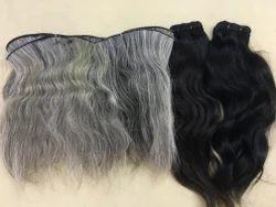 Wavy Hair And Gray