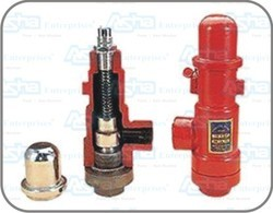 Ammonia Safety Valves with Dual Manifold ( Optional )