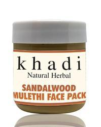 Natural Herbal Sandalwood Mulethi Face Pack