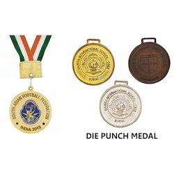 medallions die punched medal exporter from delhi