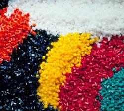Coloured Plastic Granules