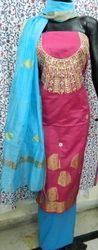 Aaditri Banarasi Gota Patti Jaipuri Suit