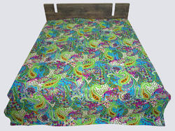 New Cotton Kantha Mughal Bed Cover